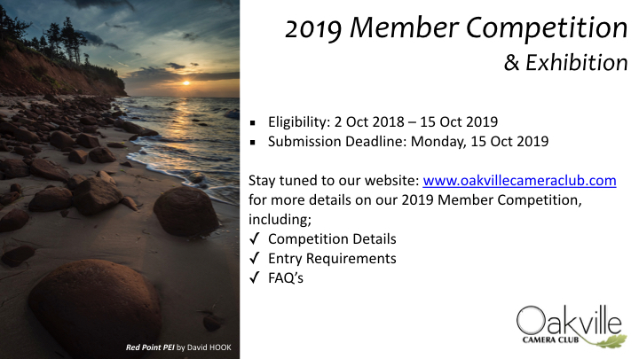 Capture Oakville 2019 Announcement R2 May 2019.002