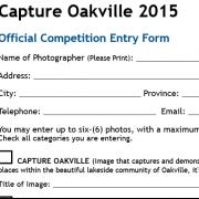 Capture Oakville 2015 Submission Deadline