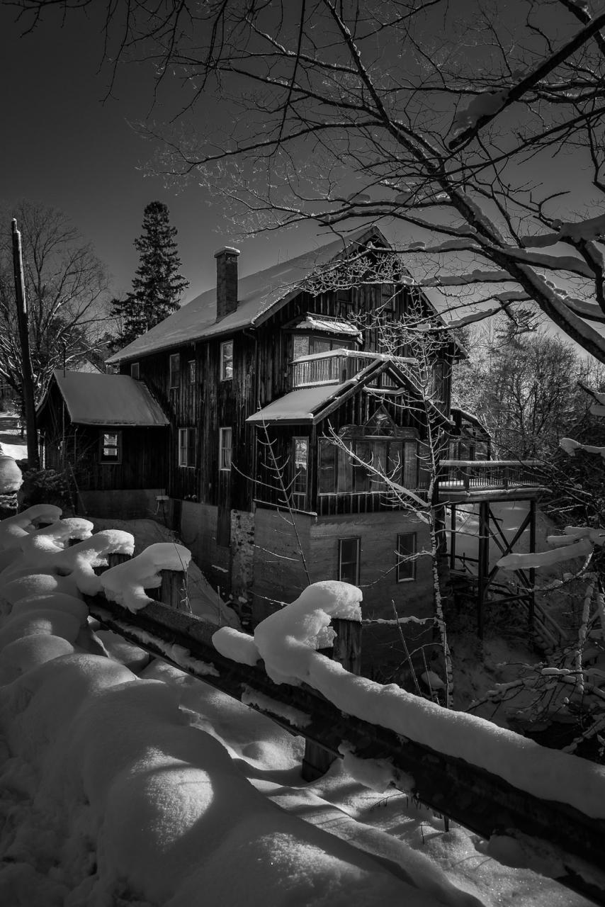 Marchmont Mill - Winner - Snow & Ice (experienced) - David Hook 2017 Winter Challenge