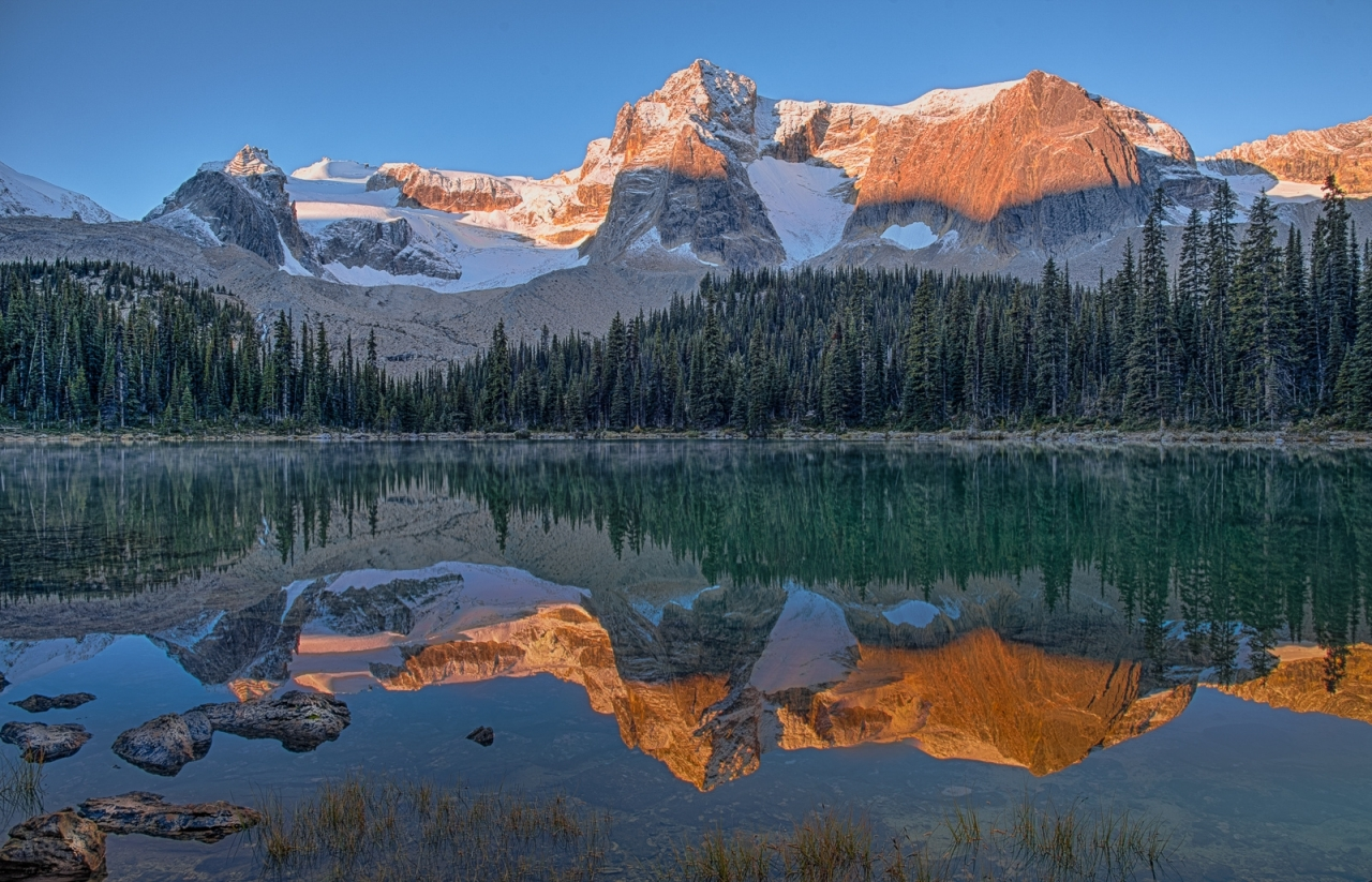 Sunrise in the Rockies - Runner Up - Something Different Category - Roger Passmore 2016 Fall Challenge