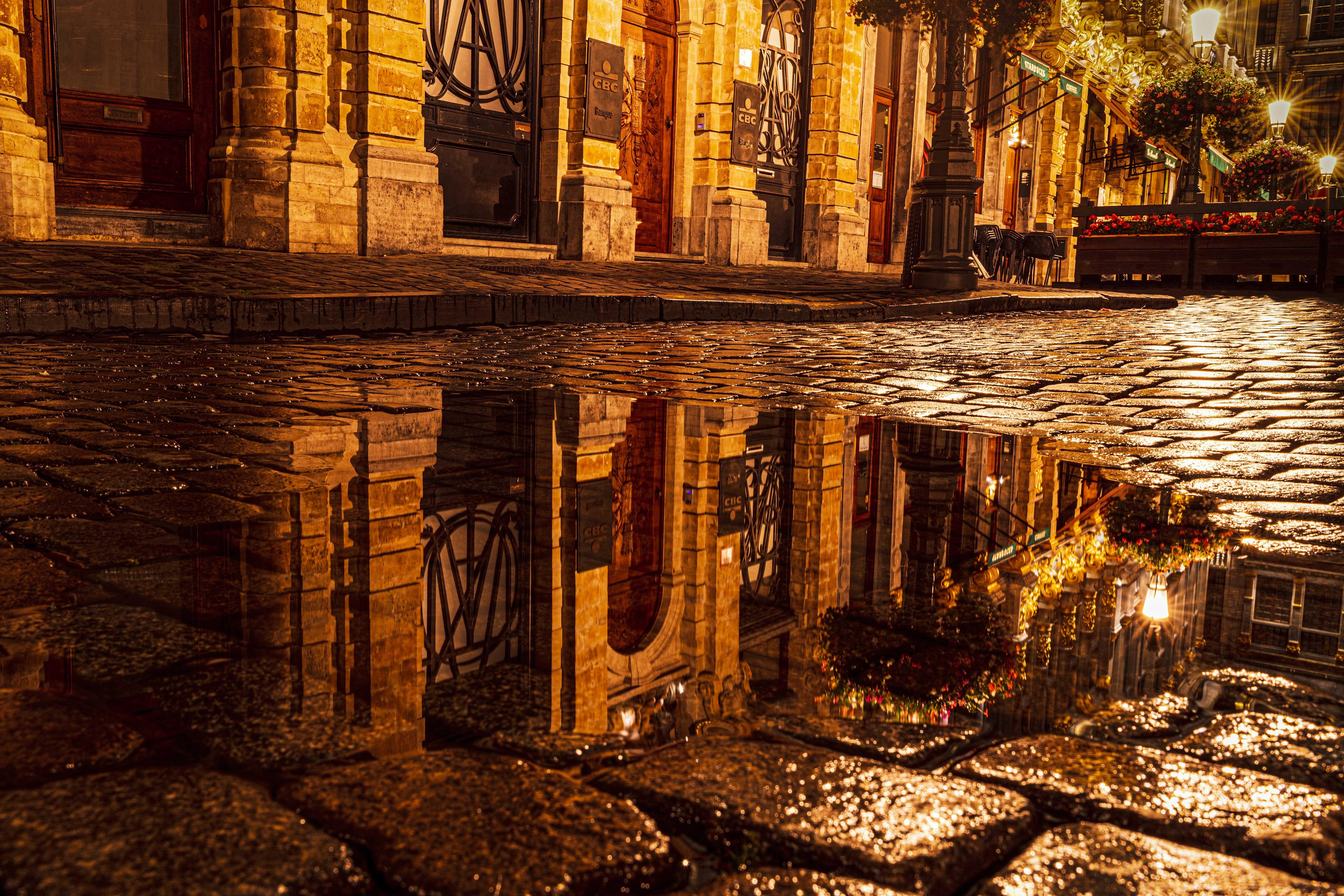 Brussles Reflection by Michael Osborne